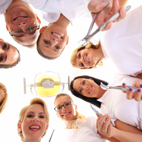 ÚjBuda Dental csapata