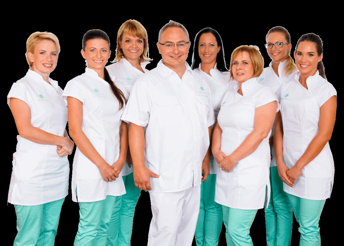 Újbuda egyik kedvenc fogászatának fogorvos csapata